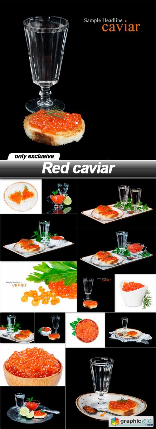 Red caviar - 15 UHQ JPEG