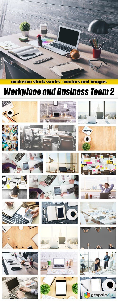 Workplace and Business Team 2 - 25xUHQ JPEG