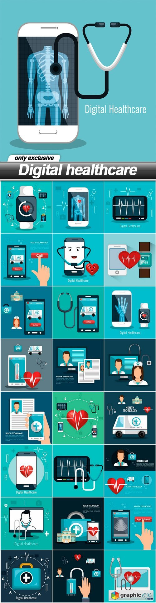 Digital healthcare - 25 EPS