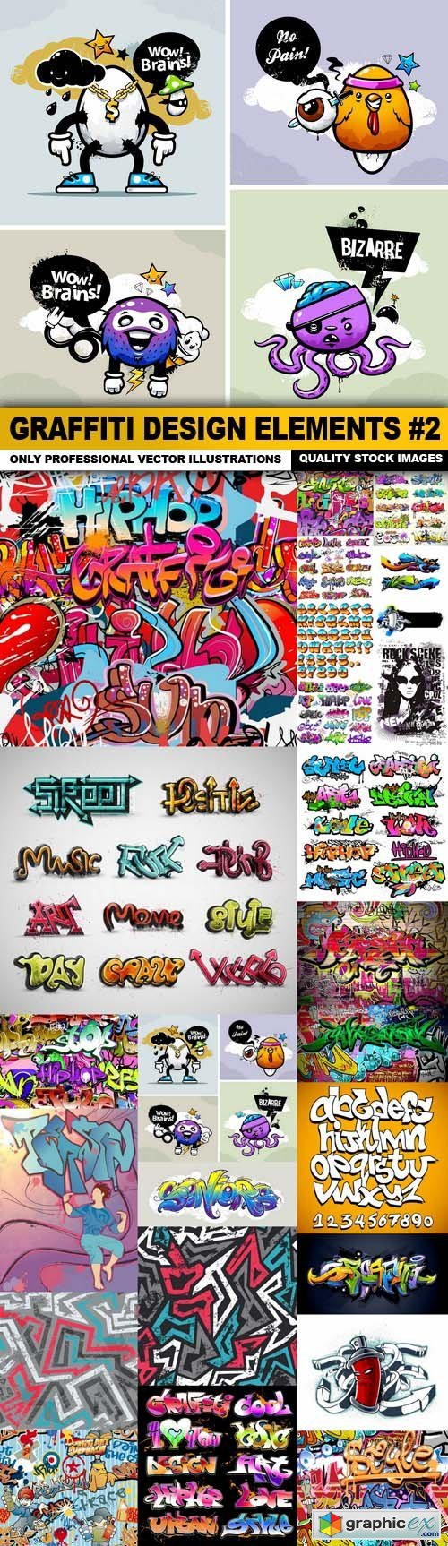 Graffiti Design Elements #2