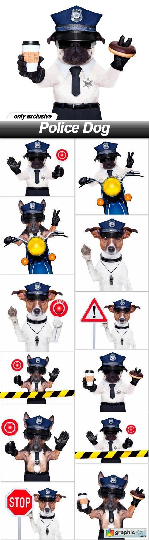 Police Dog - 12 UHQ JPEG