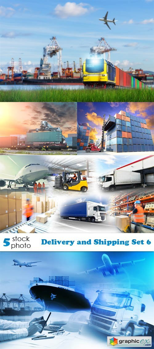 Photos - Delivery and Shipping Set 6