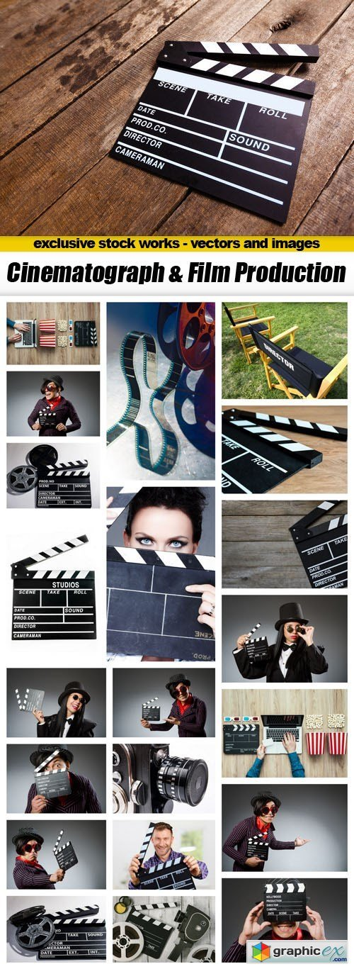 Cinematograph & Film Production - 22xUHQ JPEG