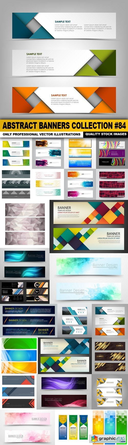 Abstract Banners Collection #84