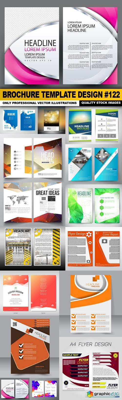 Brochure Template Design #122