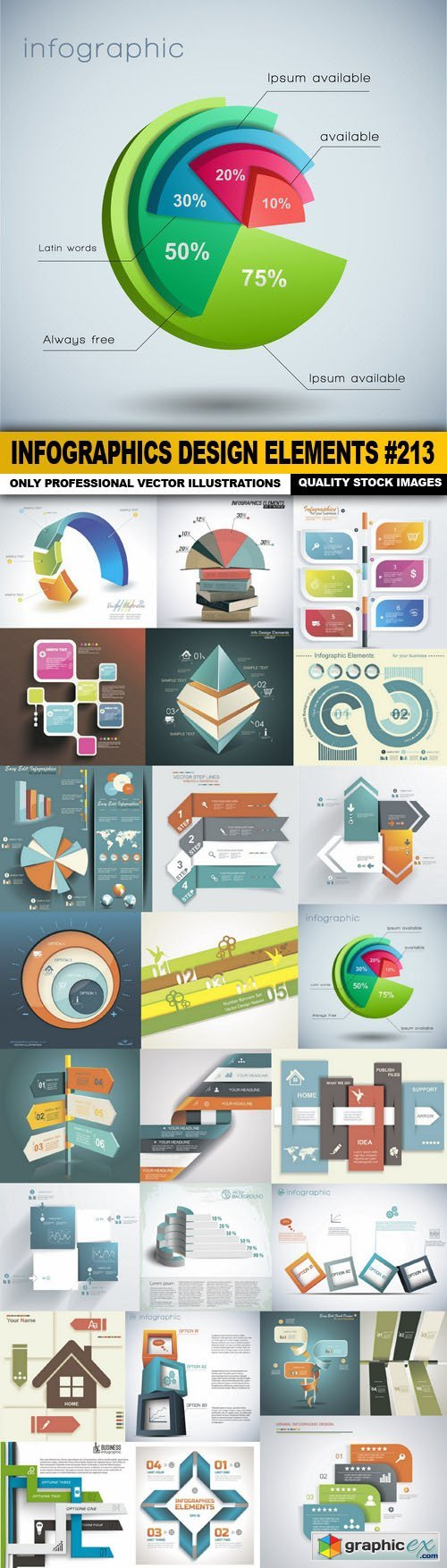 Infographics Design Elements #213