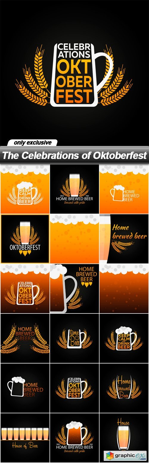 The Celebrations of Oktoberfest - 18 EPS
