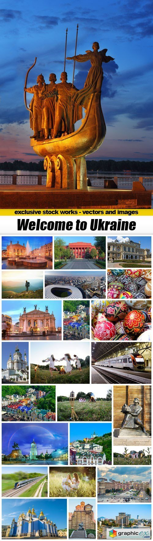 Welcome to Ukraine - 25xUHQ JPEG