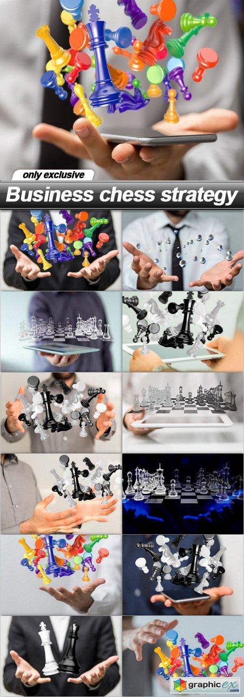 Business chess strategy - 13 UHQ JPEG