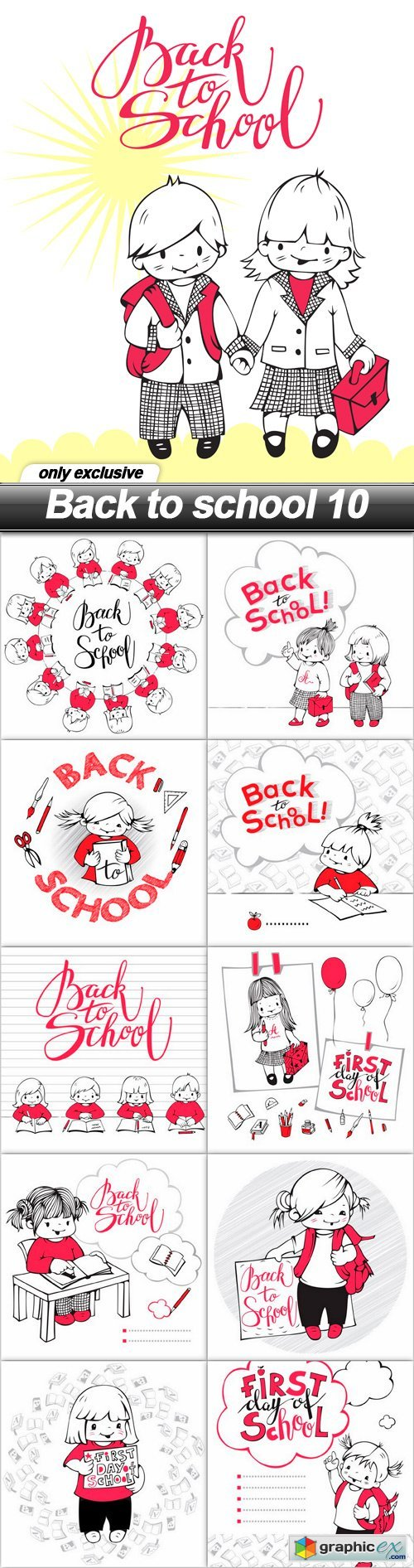 Back to school 10 - 11 EPS