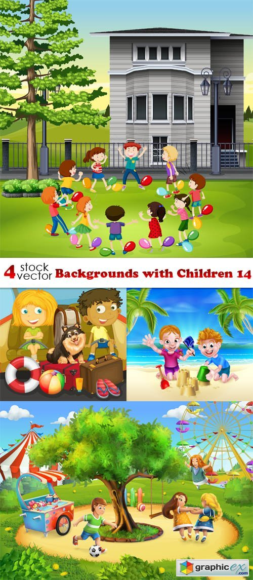 Backgrounds with Children 14