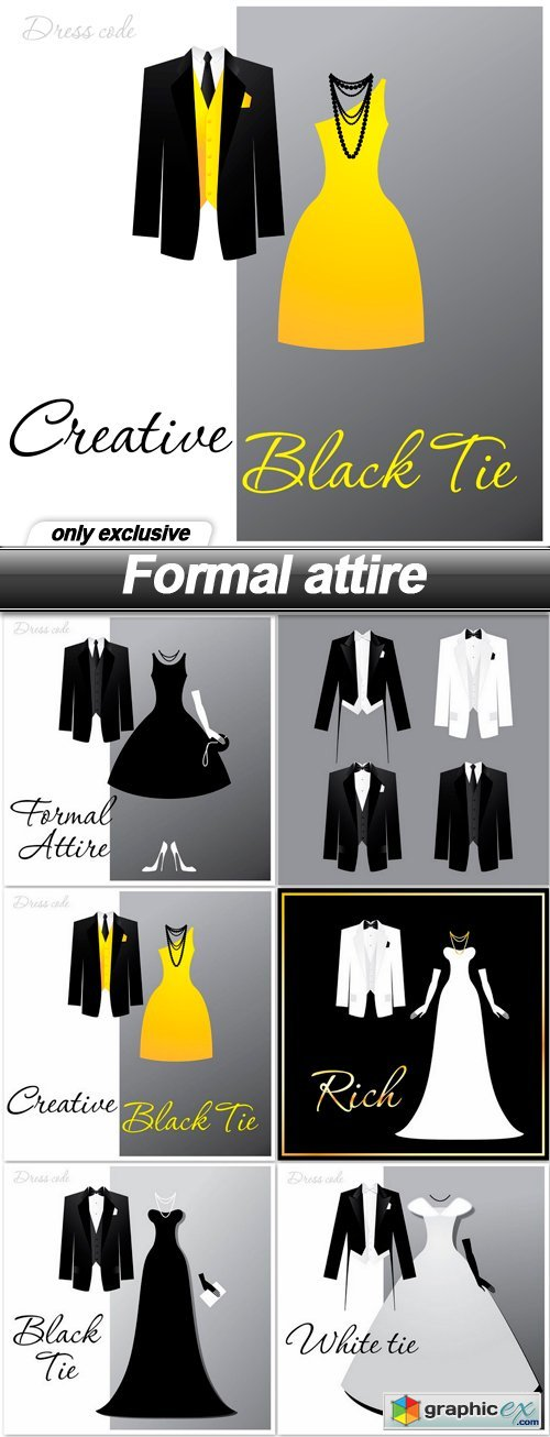 Formal attire - 6 EPS