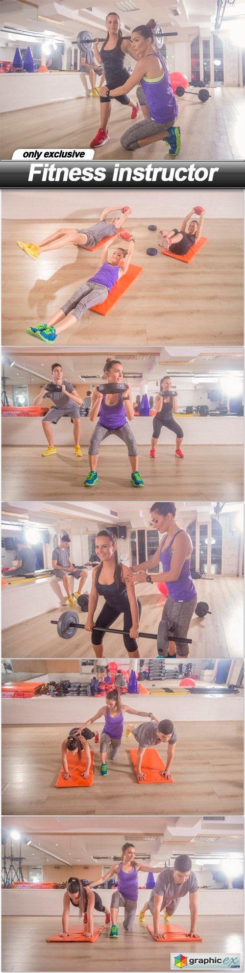 Fitness instructor - 6 UHQ JPEG