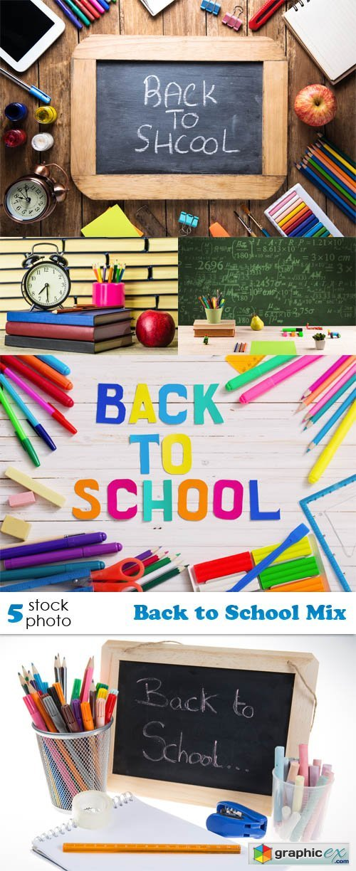 Photos - Back to School Mix