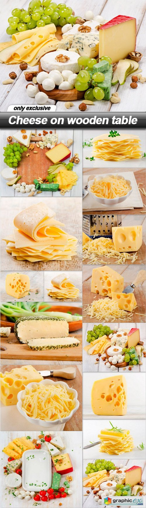 Cheese on wooden table - 15 UHQ JPEG