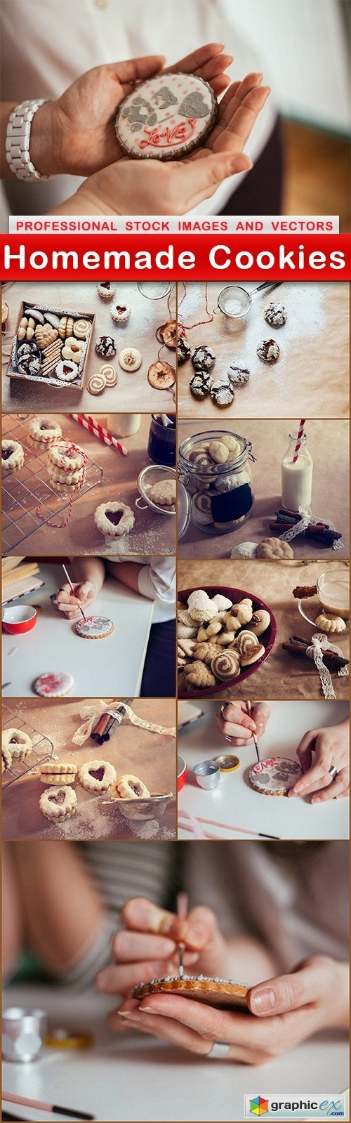 Homemade Cookies - 10 UHQ JPEG