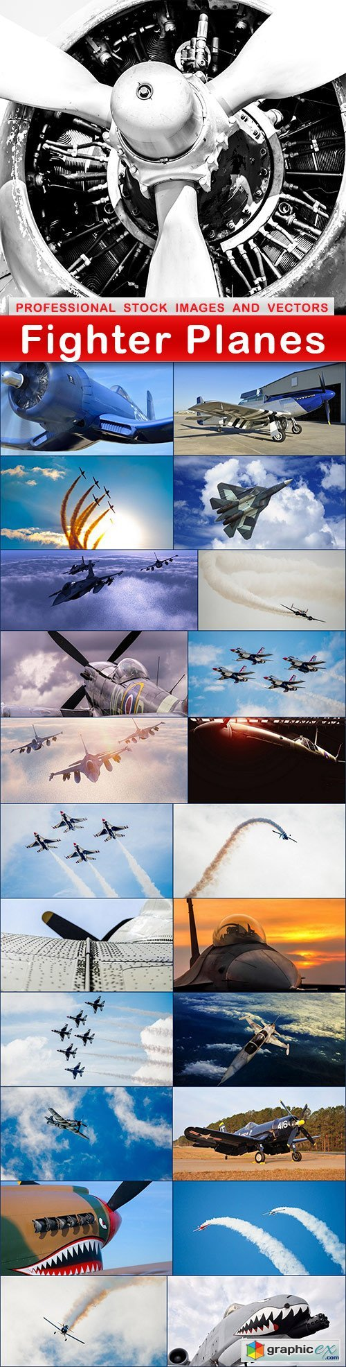 Fighter Planes - 23 UHQ JPEG