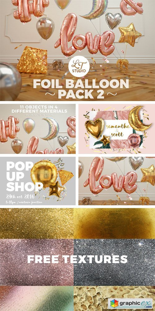 Foil Balloon Pack 2