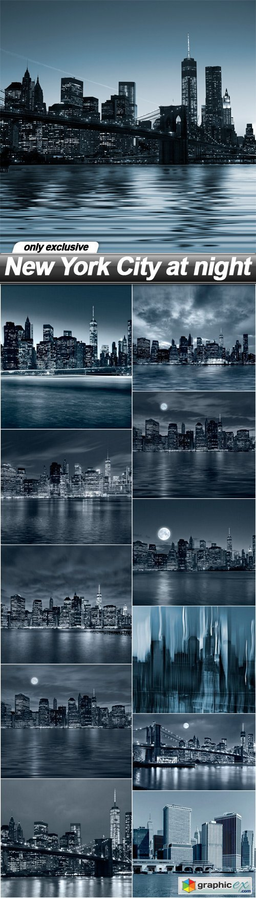 New York City at night - 12 UHQ JPEG