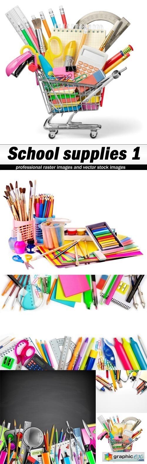 School supplies 1 - 5 UHQ JPEG