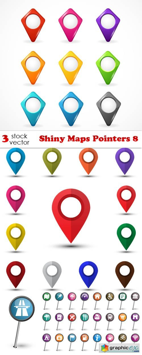 Shiny Maps Pointers 8