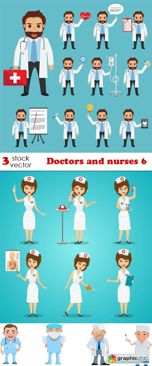 Doctors and nurses 6