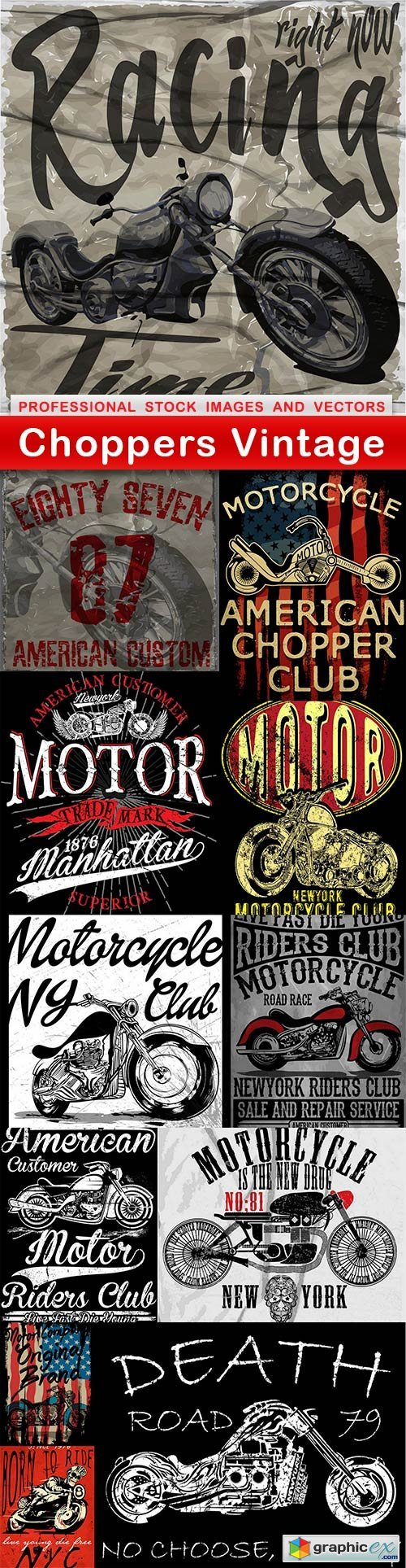 Choppers Vintage - 12 EPS