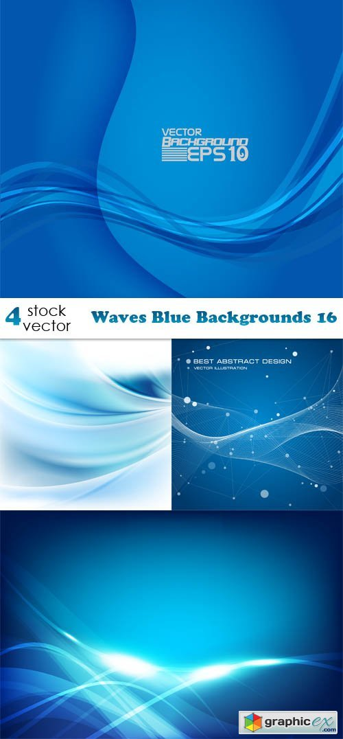 Waves Blue Backgrounds 16