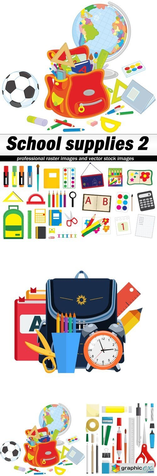 School supplies 2 - 5 EPS