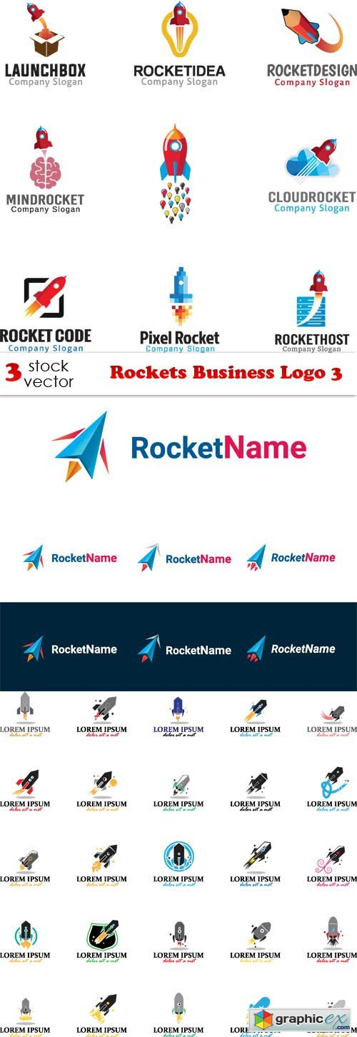 Rockets Business Logo 3