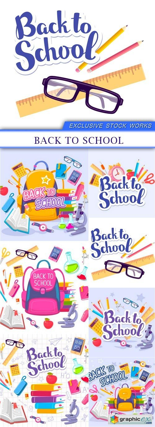 back to school 7X EPS