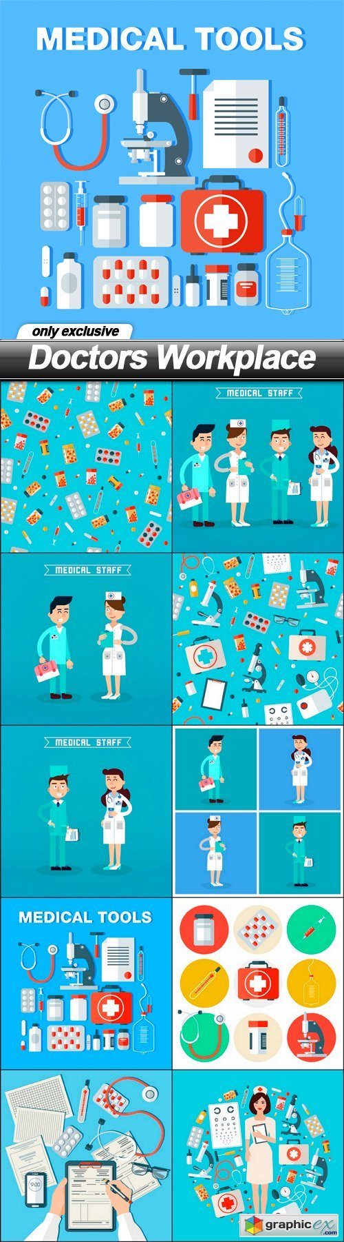 Doctors Workplace - 10 EPS