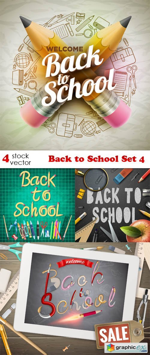 Back to School Set 4