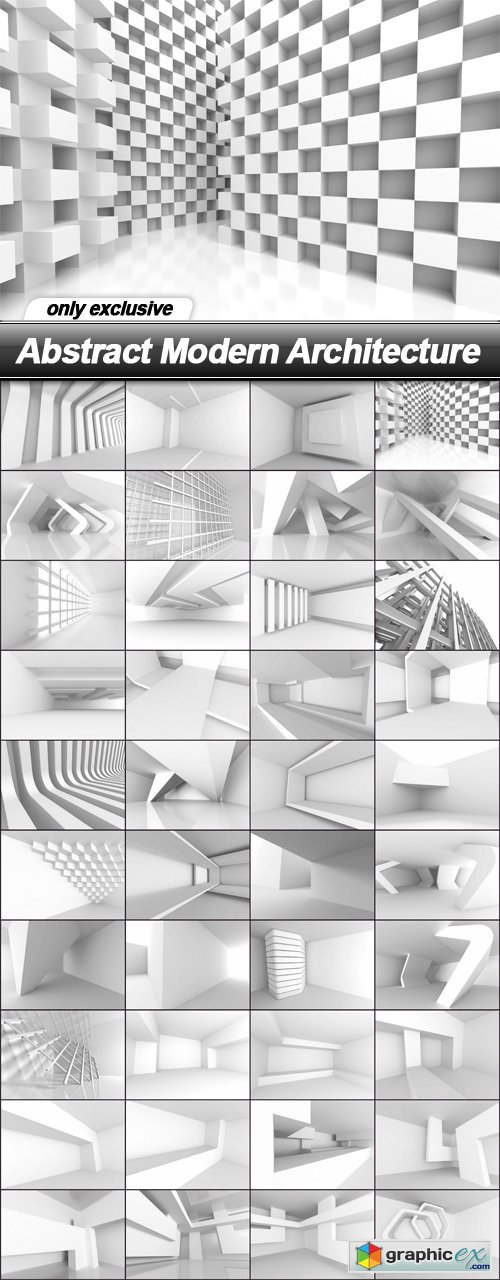 Abstract Modern Architecture - 40 UHQ JPEG
