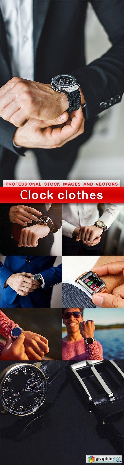 Сlock clothes - 8 UHQ JPEG