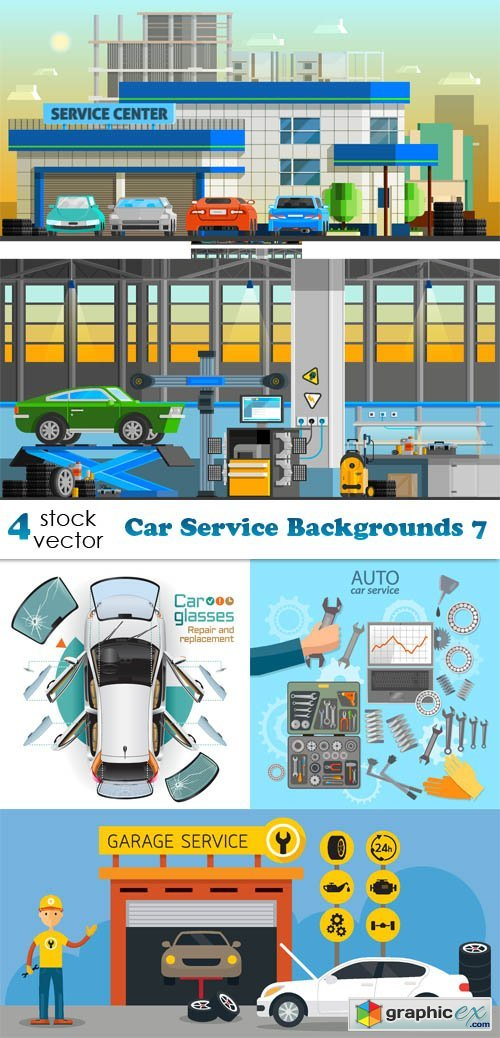 Car Service Backgrounds 7