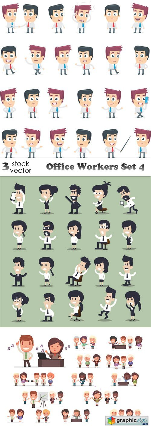 Office Workers Set 4