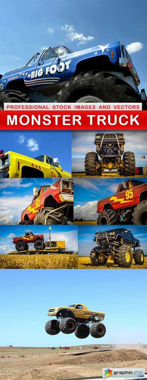 MONSTER TRUCK - 8 UHQ JPEG