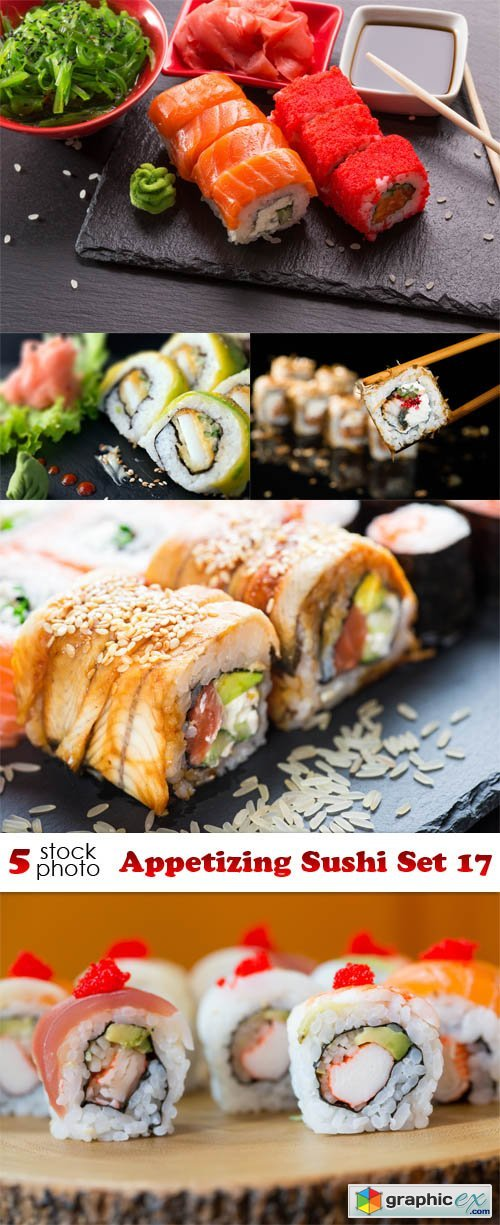 Appetizing Sushi Set 17