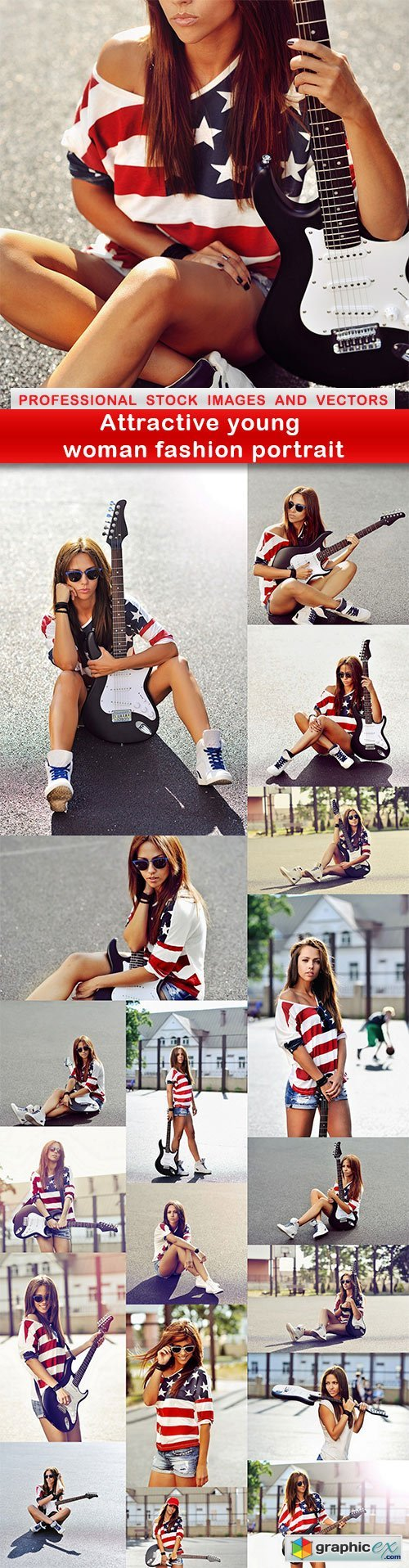 Attractive young woman fashion portrait - 19 UHQ JPEG