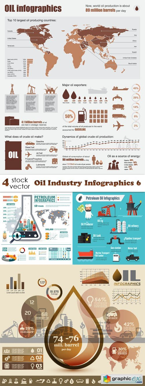 Oil Industry Infographics 6