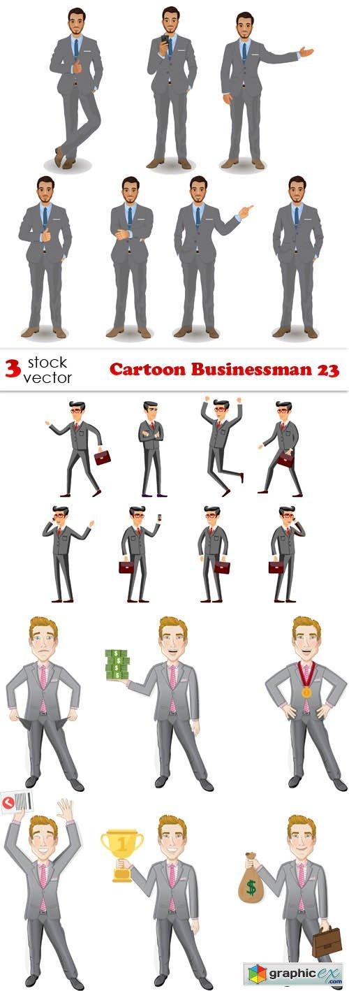Cartoon Businessman 23
