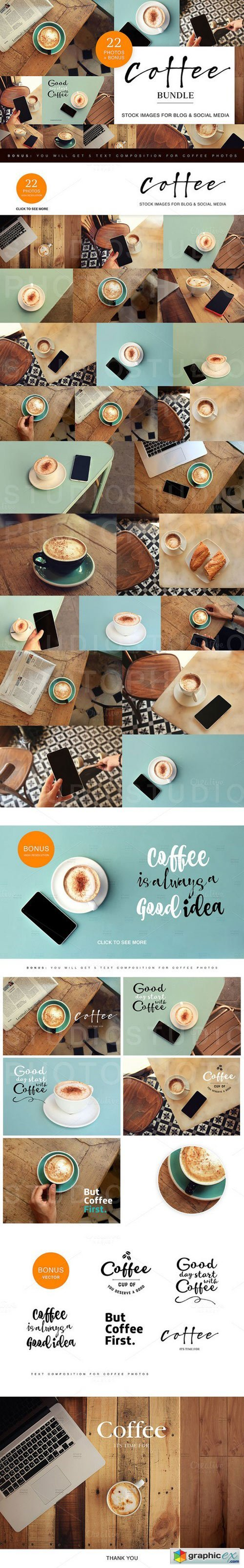 Coffee bundle/ Images for Blogs