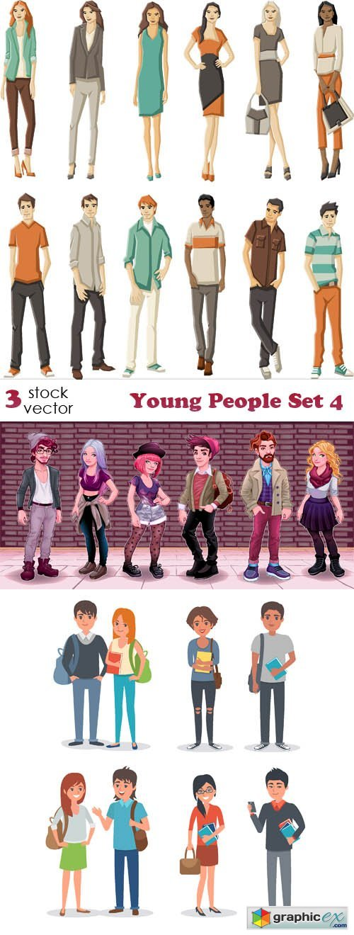 Young People Set 4