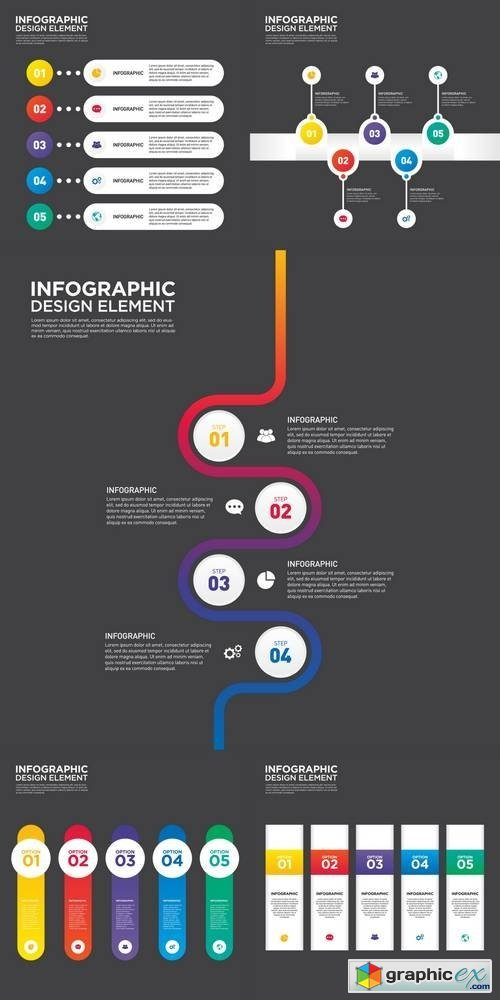 Infographic Business Report Template