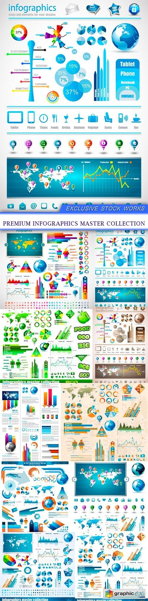 Bussiness and infographic page 32 free download vector stock premium infographics master collection 10x eps gumiabroncs Choice Image
