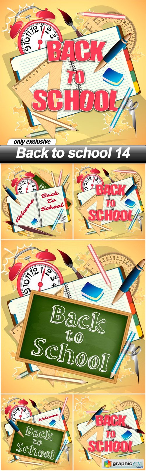 Back to school 14 - 5 EPS