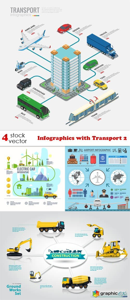 Infographics with Transport 2