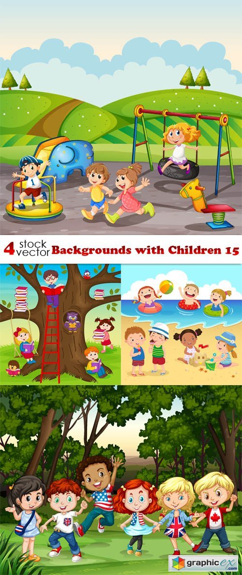 Backgrounds with Children 15