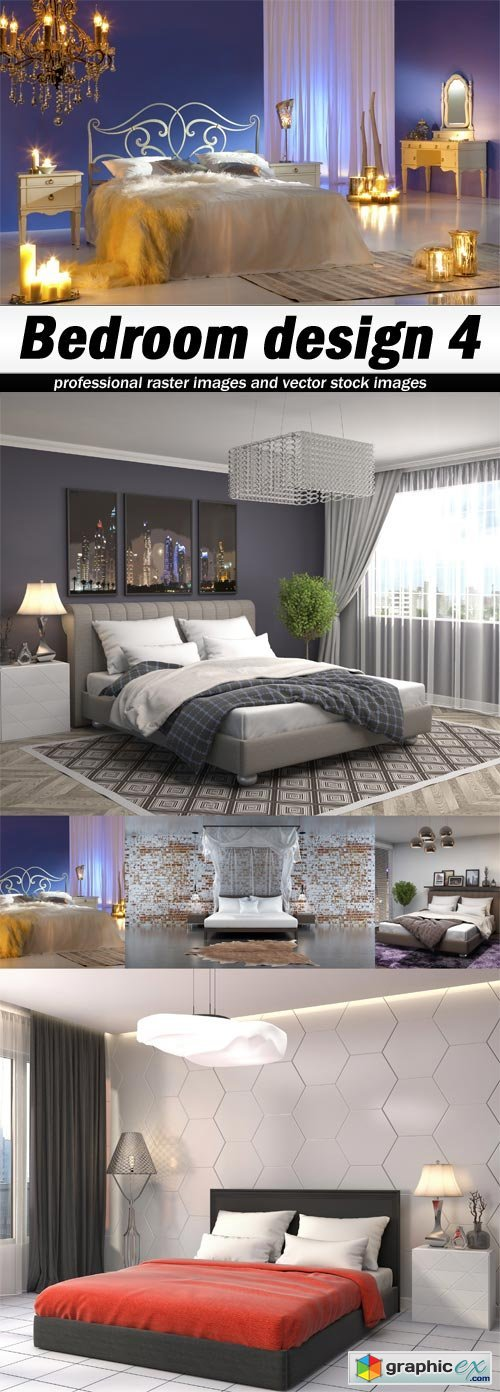 Bedroom design 4 - 5 UHQ JPEG